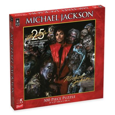 BePuzzled® 500-Piece Michael Jackson Thriller 25th Anniversary Puzzle