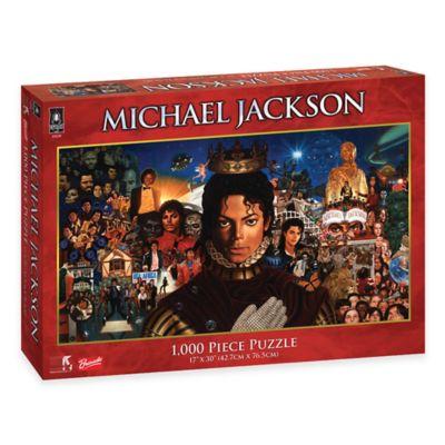 BePuzzled® 1000-Piece Michael Jackson Album Puzzle