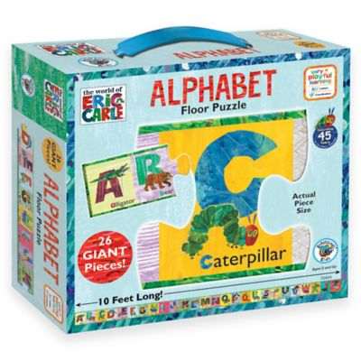 BePuzzled® The World of Eric Carle 26-Piece Alphabet Floor Puzzle