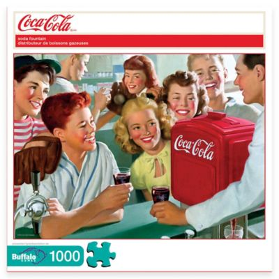 Buffalo Games Coca-Cola® 1000-Piece Soda Fountain Puzzle