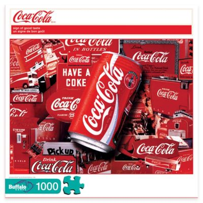 Buffalo Games Coca-Cola® 1000-Piece Sign of Good Taste Puzzle