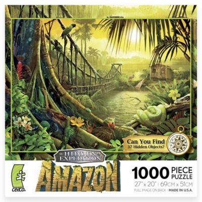 Ceaco 1000-Piece Hidden Expedition Amazon Puzzle