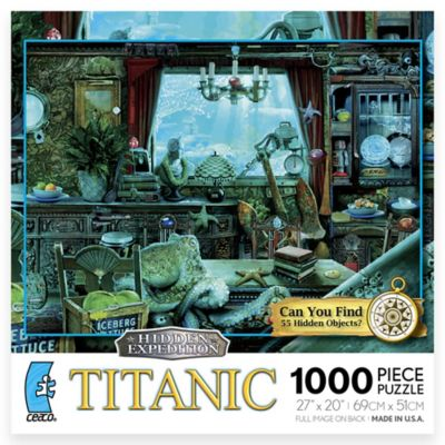 Ceaco 1000-Piece Hidden Expedition Titanic Puzzle