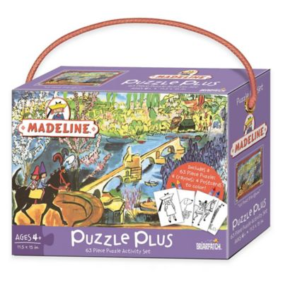 Briarpatch 63-Piece Madeline Puzzle Plus Activity Set