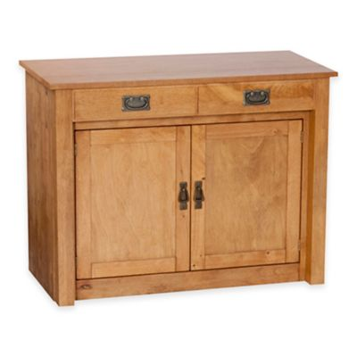 Stakmore Expanding Wood Cabinet in Cherry