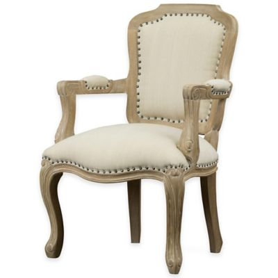 Baxton Studio Poitou Traditional French Accent Chair
