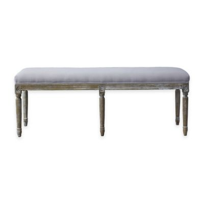 Clairette Traditional French Bench