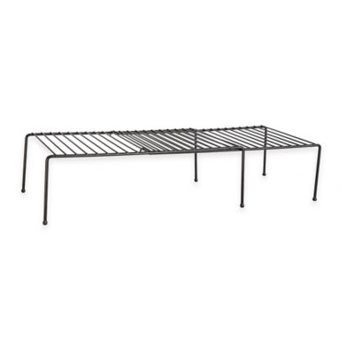 Grayline® Extendable Helper Shelf in Black