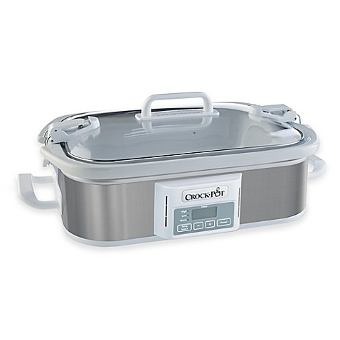 CrockPot® Programmable Casserole Slow Cooker  www.BedBathandBeyond