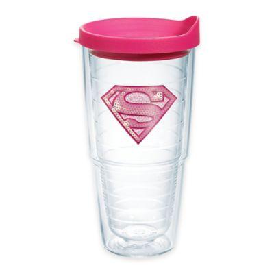 Tervis® Supergirl Pink Sequin 24 oz. Tumbler