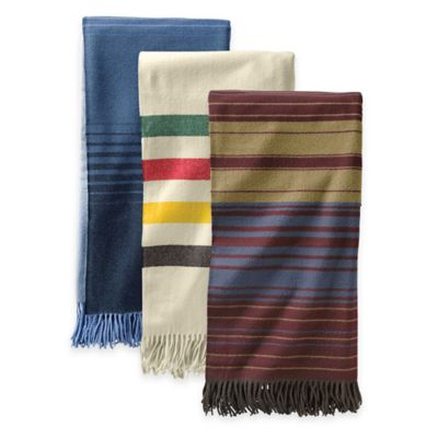 Pendleton® Merino Wool 5th Avenue Throw Blanket in Neutral