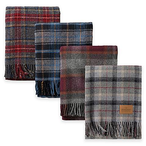 Pendleton® Wool Carry Along Motor Robe Throw Blanket