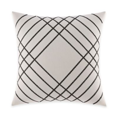 Nautica® Chatfield Embroidered Square Throw Pillow