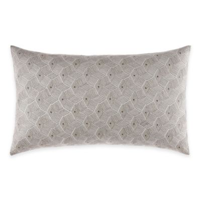 Nautica® Chatfield Embroidered Oblong Throw Pillow