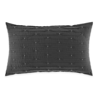 Nautica® Chatfield Pintuck Oblong Throw Pillow