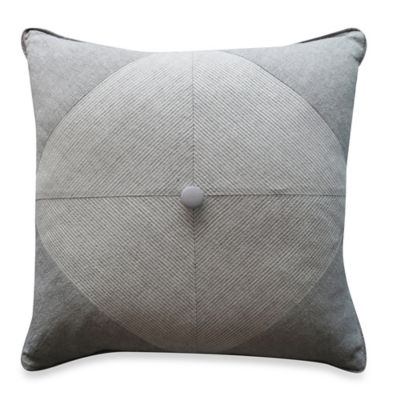 Bridge Street Tailor Woven Square Throw Pillow