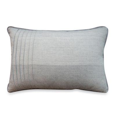 Bridge Street Tailor Pleated Oblong Throw Pillow