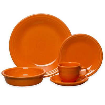 Fiesta® 5-Piece Place Setting in Tangerine