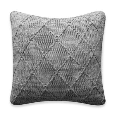 Bridge Street Todd Knit Square Throw Pillow