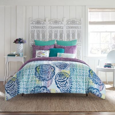 Anthology® Willa Twin Duvet Cover Set in Blue