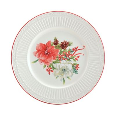 Mikasa® Italian Countryside Christmas Bouquet Accent Plate