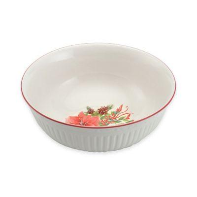 Mikasa® Italian Countryside Christmas Bouquet Vegetable Bowl