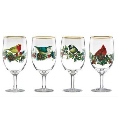 Lenox® Winter Greetings® Iced Beverage Glasses (Set of 4)