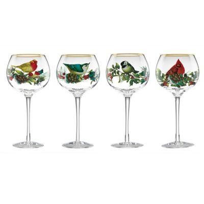 Lenox® Winter Greetings® Balloon Wine Glasses (Set of 4)