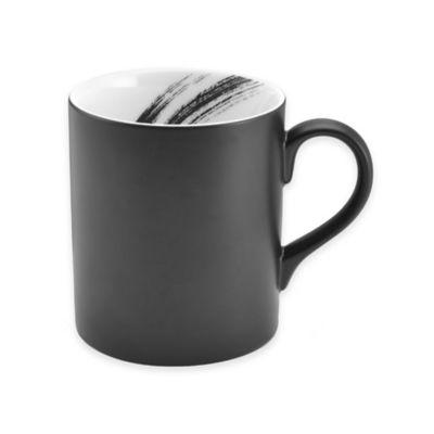 Mikasa Black Square Mug