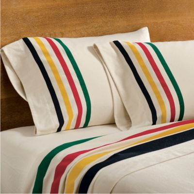 Pendleton® Flannel Twin Sheet Set in Glacier