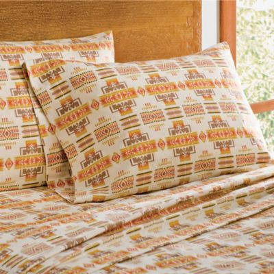 Pendleton® Chief Joseph Flannel Twin Sheet Set in Multi