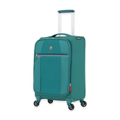 SWISSGEAR® 6165 Collection 20-Inch Carry On 4-Wheel Spinner in Teal