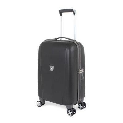 Wenger SwissGear 6150 Collection 20-Inch Carry On 8-Wheel Hardside Spinner in Black