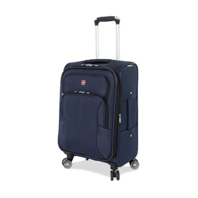 Wenger SwissGear 6182 Collection 20-Inch 8-Wheel Carry On Spinner in Blue