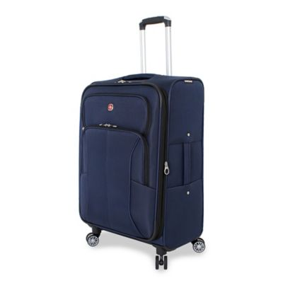 SWISSGEAR® 17-Inch Deluxe Upright Spinner in Blue