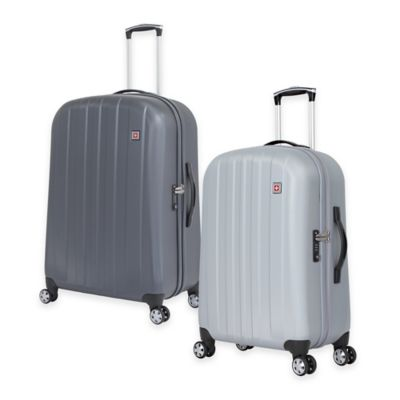 SWISSGEAR® 28-Inch Rolling Upright Hardside Spinner in Silver