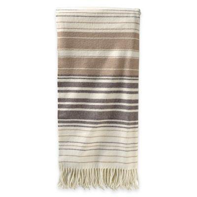 Pendleton® Merino Wool 5th Avenue Throw Blanket in Neutral