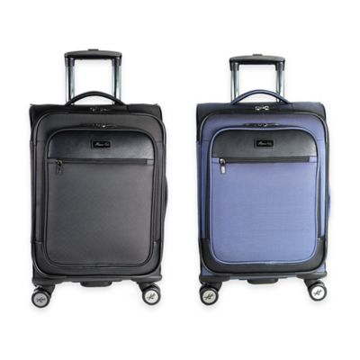 Kenneth Cole New York Class Transit 20-Inch 8-Wheel Expandable Spinner in Blue