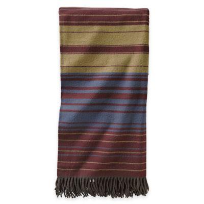 Pendleton® Merino Wool 5th Avenue Throw Blanket in Multi Stripe