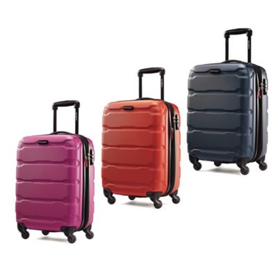 Samsonite® Omni 20-Inch 4-Wheel Expandable Carry On Spinner in Pink