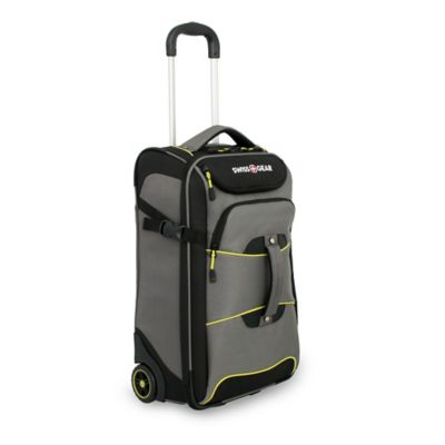 SWISSGEAR® Sierra II 21-Inch Rolling Carry On in Grey/Black