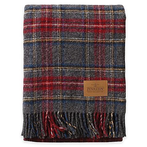 Buy Pendleton® Wool Carry Along Motor Robe Throw Blanket ...