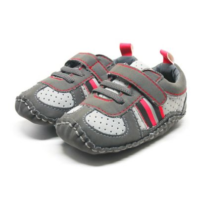 Grey/Red Boys' Shoes
