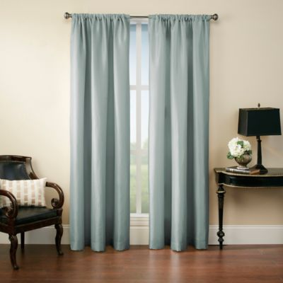 Argentina 108-Inch Rod Pocket Window Curtain Panel in Cognac
