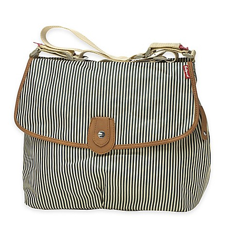 Babymel™ Satchel in Navy Stripe
