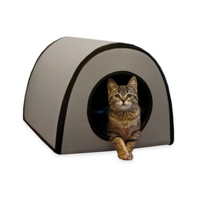 Mod Thermo-Kitty Cat Shelter™ in Grey