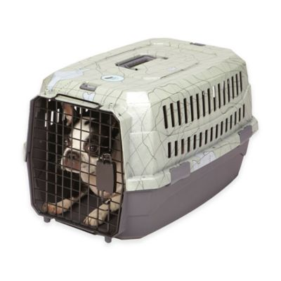 Dog is Good® Medium Never Travel Alone Medium Dog Crate