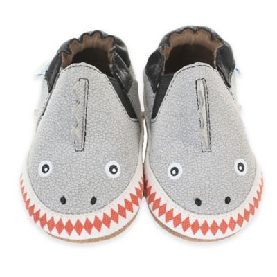 Grey Crib Shoe