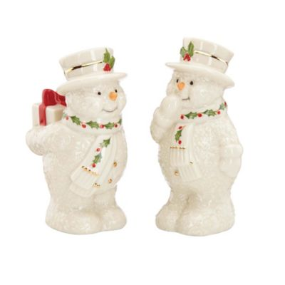 Lenox® Holiday™ Happy Holly Days Salt and Pepper Shakers
