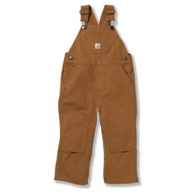 Carhartt® Size 12M Washed Bib Overall in Brown